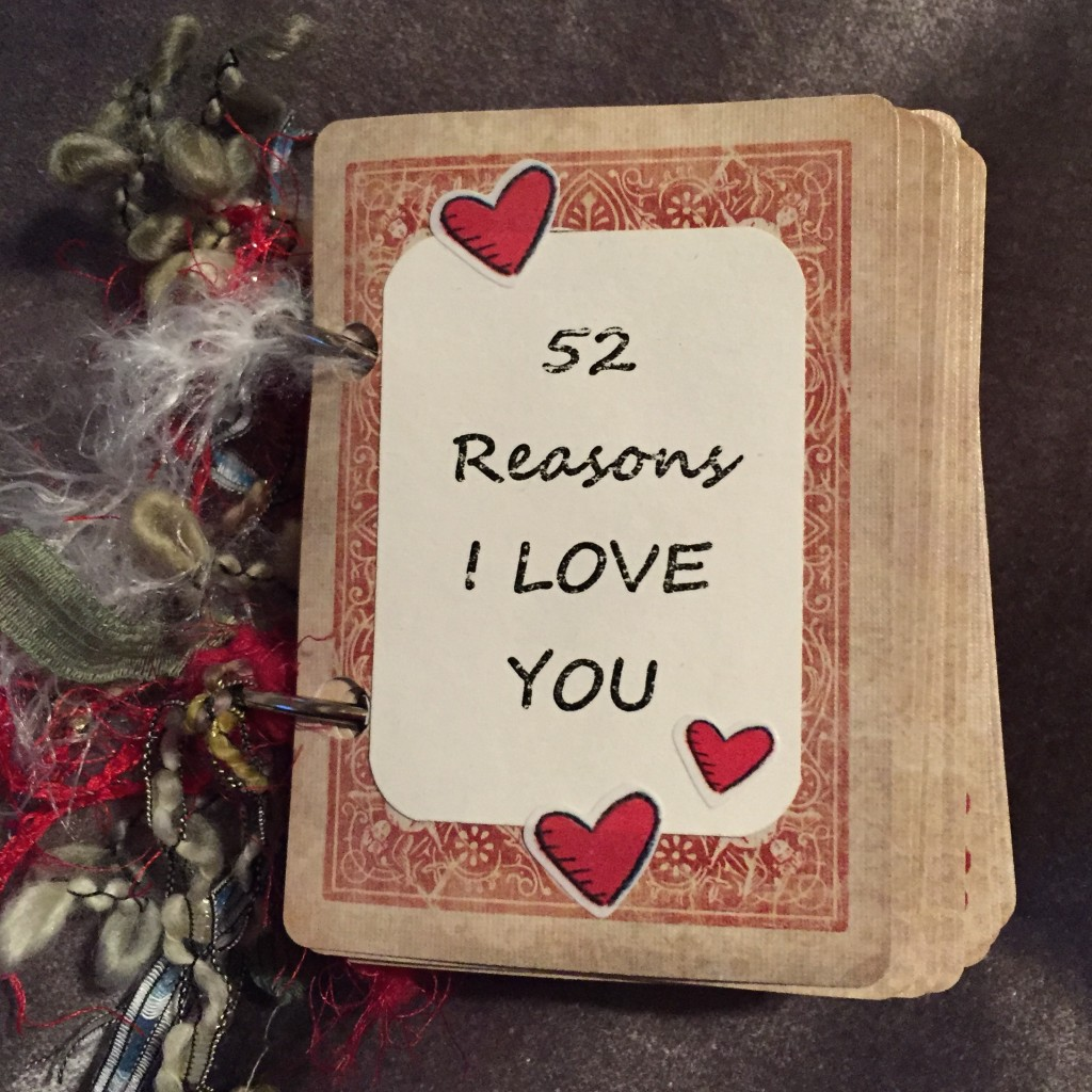 52 Reasons I Love You Valentine Card Book