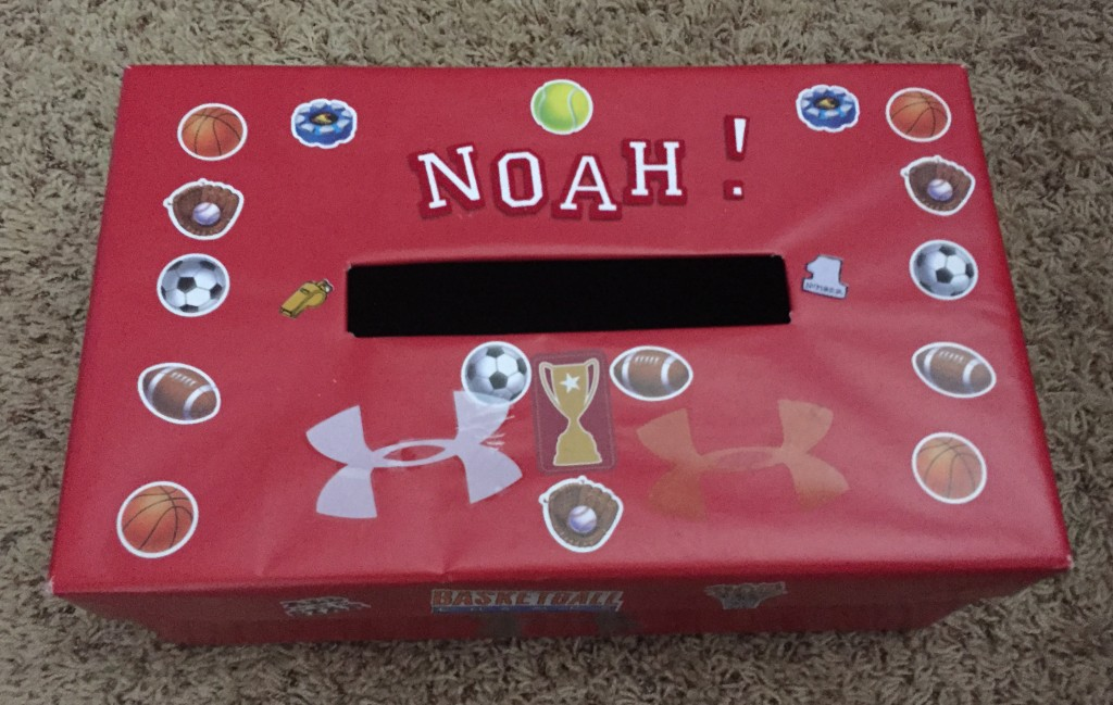 Sporty Valentine Box