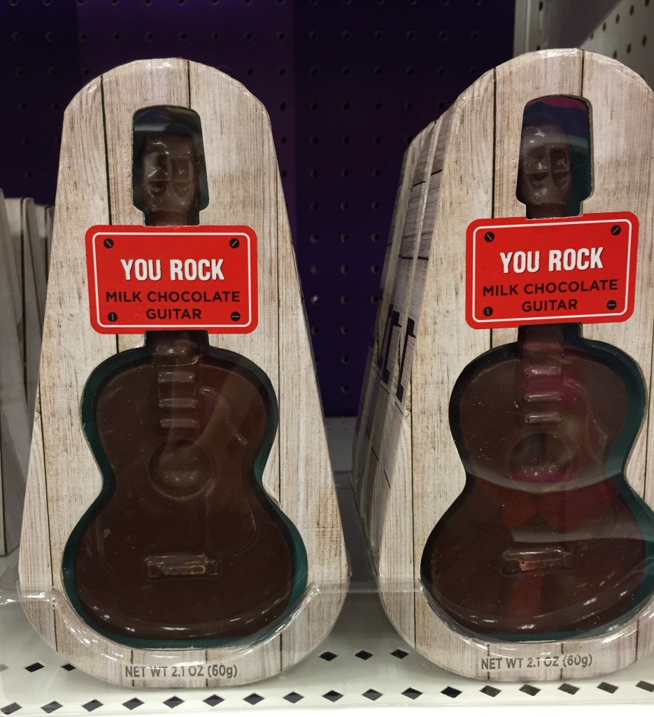 Valentine Guitar Chocolate