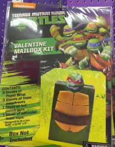 Valentine Teenage Mutant Ninja Turtle Box