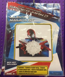 Valentine Spiderman Box