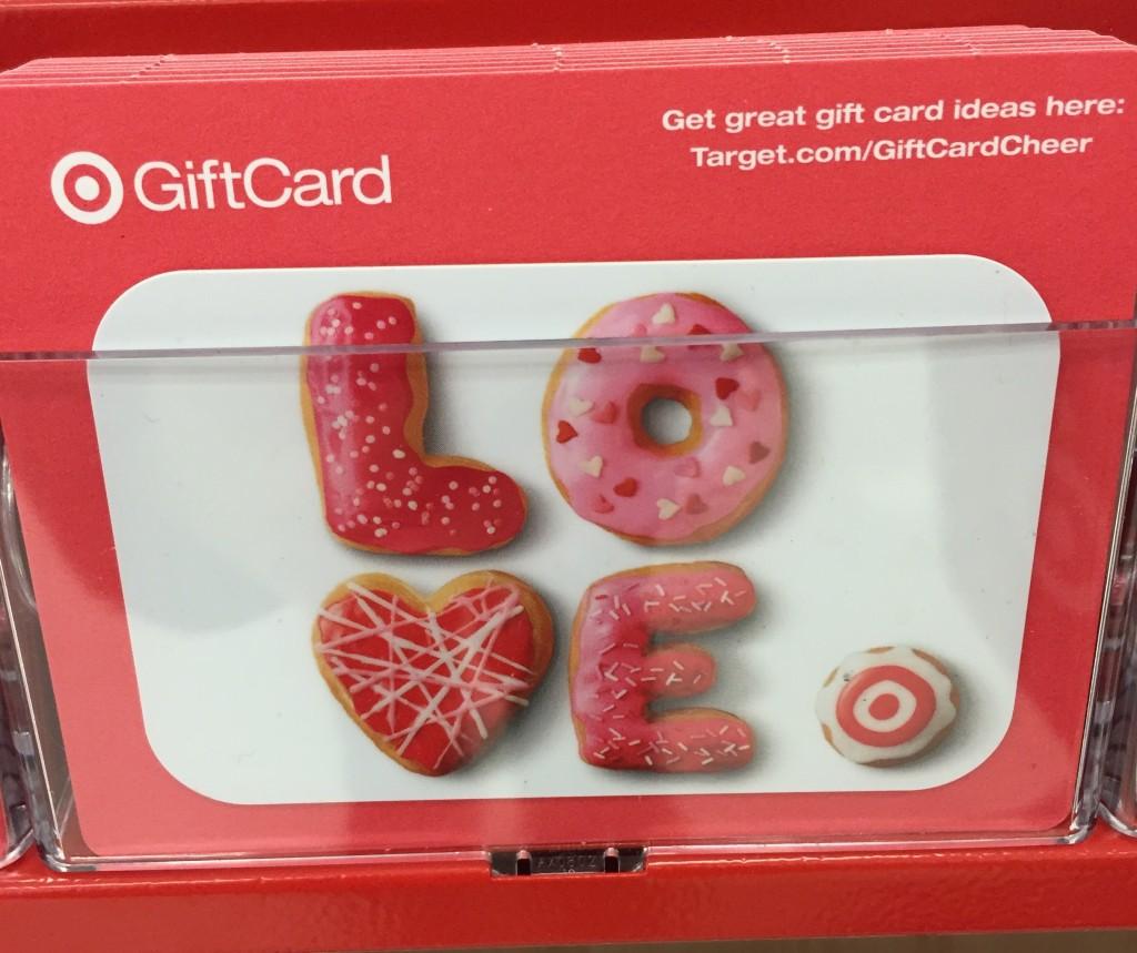 Target Valentine Gift Card